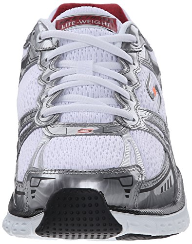 low price fee shipping cheap price cheap low shipping fee Skechers Sport Men's Infusion Sneaker White/Red outlet locations online discount shopping online best place DvVc5Lu