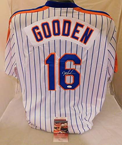 Dwight Doc Gooden SIGNED/AUTOGRAPHED New York Mets Jersey JSA COA ()