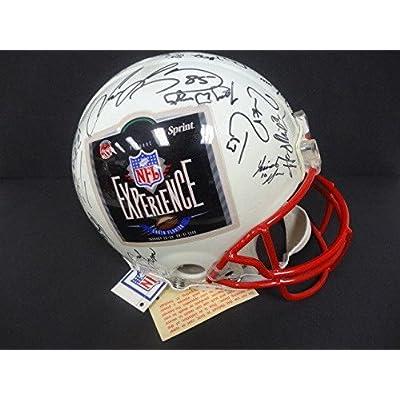 04d422e8010 (35) 1999 NFL Experience Multi-Signed Riddell Helmet Auto DA AD09456 - PSA