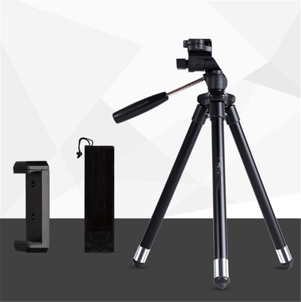 Compact Lightweight Portable Mini Camera Tripod Bluetooth Remote Self-Timer Stand Lightweight Travel 1.5 Meter Combination Set Pink