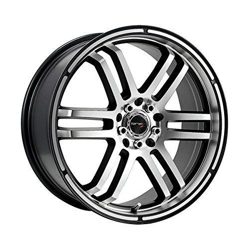 Drifz FX 15x6.5 Silver Wheel / Rim 4x100 & 4x4.5 with a 42mm Offset and a 73.00 Hub Bore. Partnumber 207MB-5650342 (Car Rims 15 Inch Set Of 4 compare prices)
