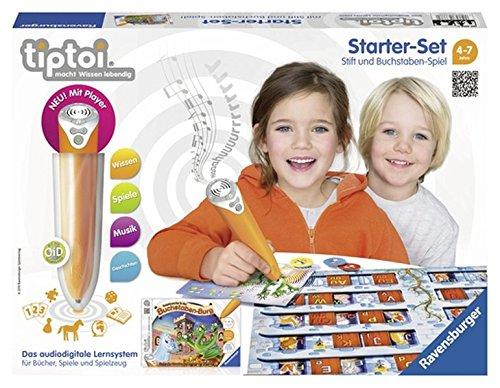 tiptoi® Starter-Set Schatzsuche in der Buchstabenburg: tiptoi® Stift mit Player und Spiel
