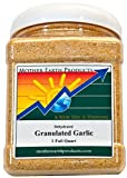 Mother Earth Products Dried Garlic, Granulated, Quart Jar