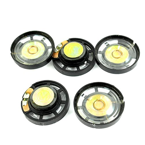 Aexit 5pcs 8 Ohm 0.25W 29mm Magnetic Lautsprecher Speaker for Electric Toy by Aexit