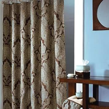 Royalton Shower Curtain  by Croscill. Amazon com  Croscill   Bathroom Accessories   Bath  Home   Kitchen