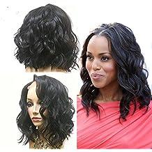QIRUI HAIR Brazilian Virgin Human Hair Lace Front Wigs 13x6 Glueless Short Bob Human Hair Wigs Wavy With Baby Hair For Black Women 10Inch Short Wavy Lace Wigs On Sale