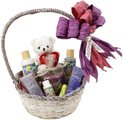 Amazoncom Arizona Sun Romantic Gift Basket Perfect Romance