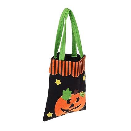 TOYANDONA 1pc sin hilar Bolsas de Halloween,Que ayudan a Las ...