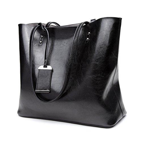 Handbag Women Purse 6710 Shoulder Miss Tote Pu Black Bag Lulu Brand Leather Designer FqwwURtnx