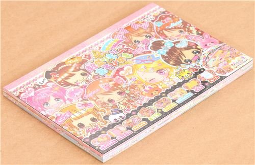 Bloc notas kawaii chicas japonesas diario amigas para ... - photo#40