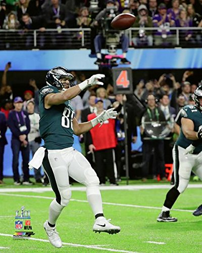 "Eagles Super Bowl 52 Trey Burton Philly Special Touchdown Throw 8"" x 10"" Football Photo"