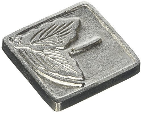 Maroma Copper and Pewter Incense Holder, Square Pewter (Maroma 1 Holder)