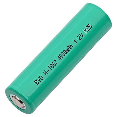 Nickel Metal Hydride Battery >> Amazon Com Single Cells 4 3af 4500nm Nickel Metal Hydride