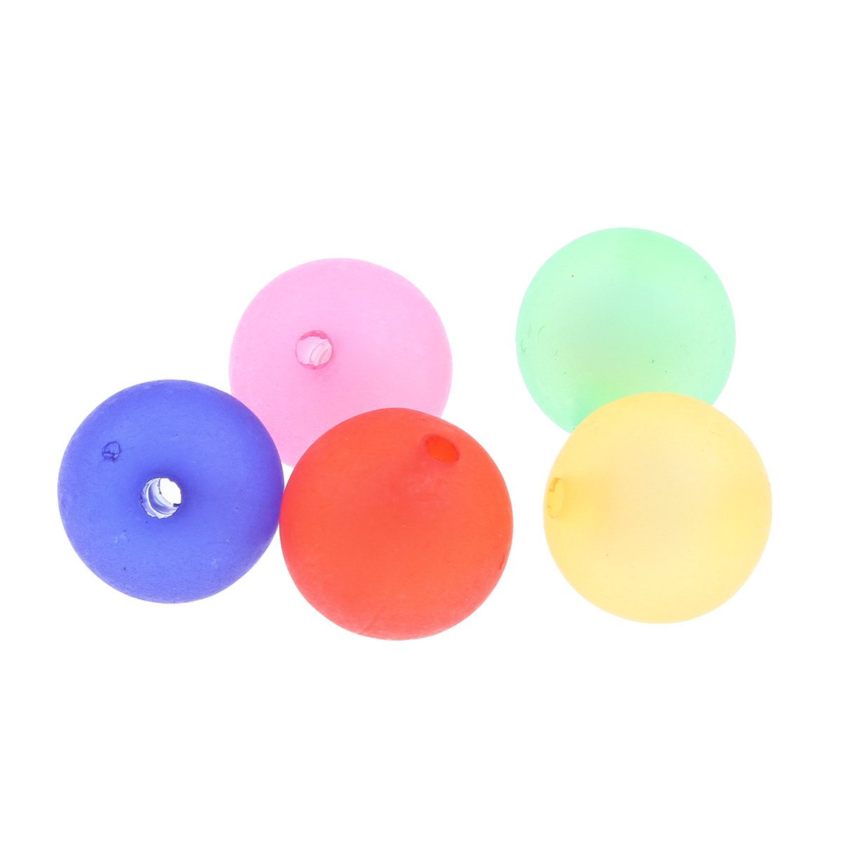 150 PERLEN Kunststoffperlen Acrylperlen Plastik KUGEL POLARIS EFFEKT 10mm R178 Perlin