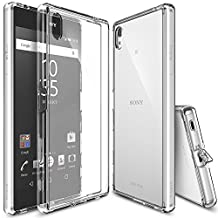 Xperia Z5 Premium Case, Ringke FUSION [Crystal View] Shock Absorption TPU Bumper Drop Protection [FREE Screen Protector] Clear Hard Case for Sony Xperia Z5 Premium (Not for Z5 & Z5 Compact)