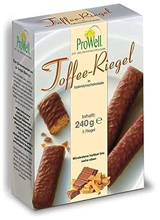 Programa de dieta Prowell - caramelo-cerrojo en leche entera-chocolate - 240 G (5 cerrojo): Amazon.es: Salud y cuidado personal