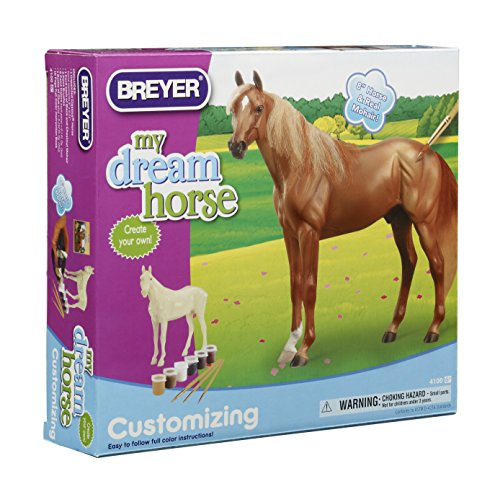 - Breyer Classics Customizing - Thoroughbred Horse Craft Activity Set