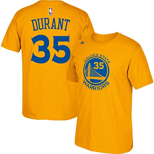 Kevin Durant Youth Golden State Warriors Name and Number Jersey T-shirt