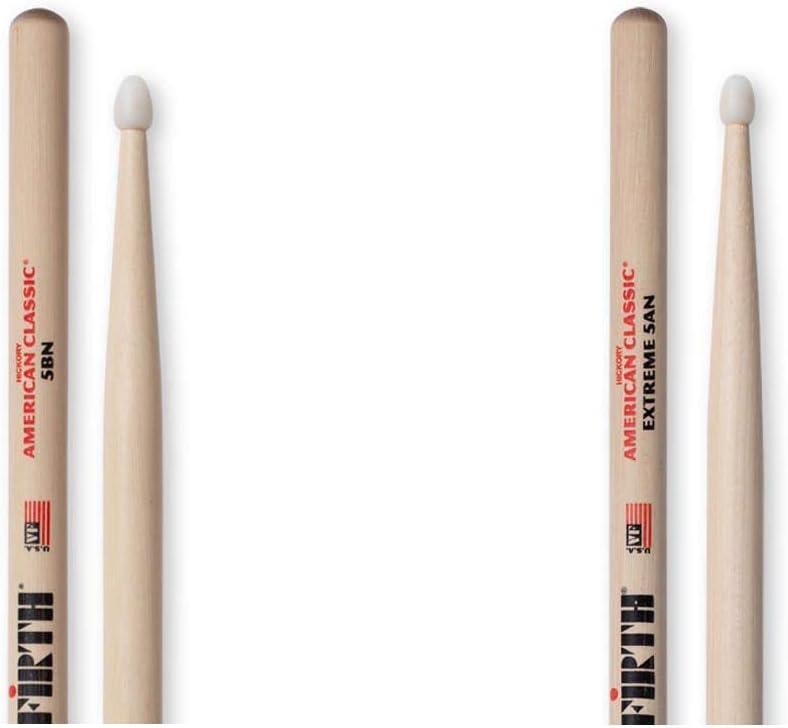 Vic Firth American Classic Extreme 5B Nylon Tip Drumsticks
