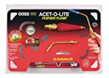Goss KA-1H Soldering Kit for Use with ''B'' Acetylene Tanks with Economical BA-3 Feather Flame Tip