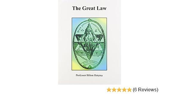 Amazon com: The Great Law (9780787304461): Hilton Hotema: Books