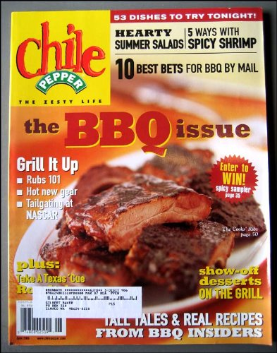 Texas Sauce Recipes Hot - Chile Pepper Magazine June 2006 the BBQ Issue