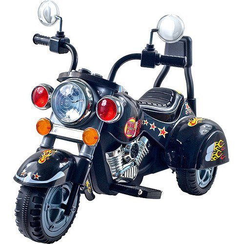 Lil' Rider Road Warrior 3-Wheel Motorcycle 6-Vol