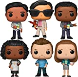 Funko Pop! Television: Community Collectible Vinyl Figures, 3.75' (Set of 6)