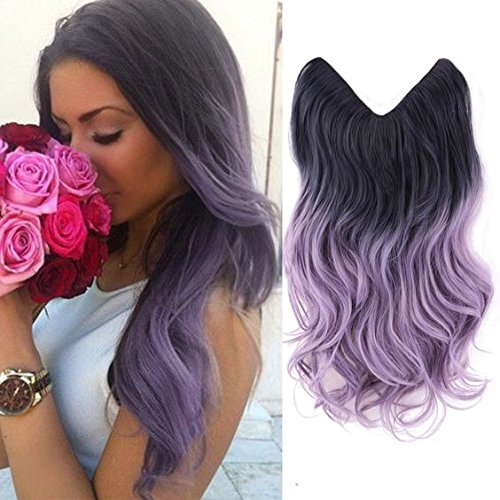 HairPhocas Colored Extensions Synthetic Hairpieces product image