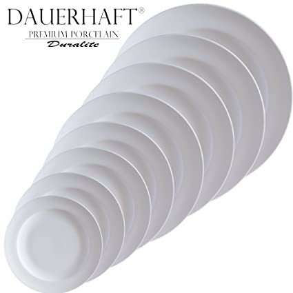 Dauerhaft Dinnerware Round Porcelain Plates Sets/Restaurant Serving Plate/Catering Dinnerware/Hotel Tableware  sc 1 st  Amazon.com : catering dinnerware sets - pezcame.com