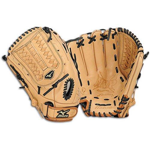 (Mizuno MVP Fastpitch GMVP1259F Softball Fielder's Mitt (12.5-Inch, Left Handed)