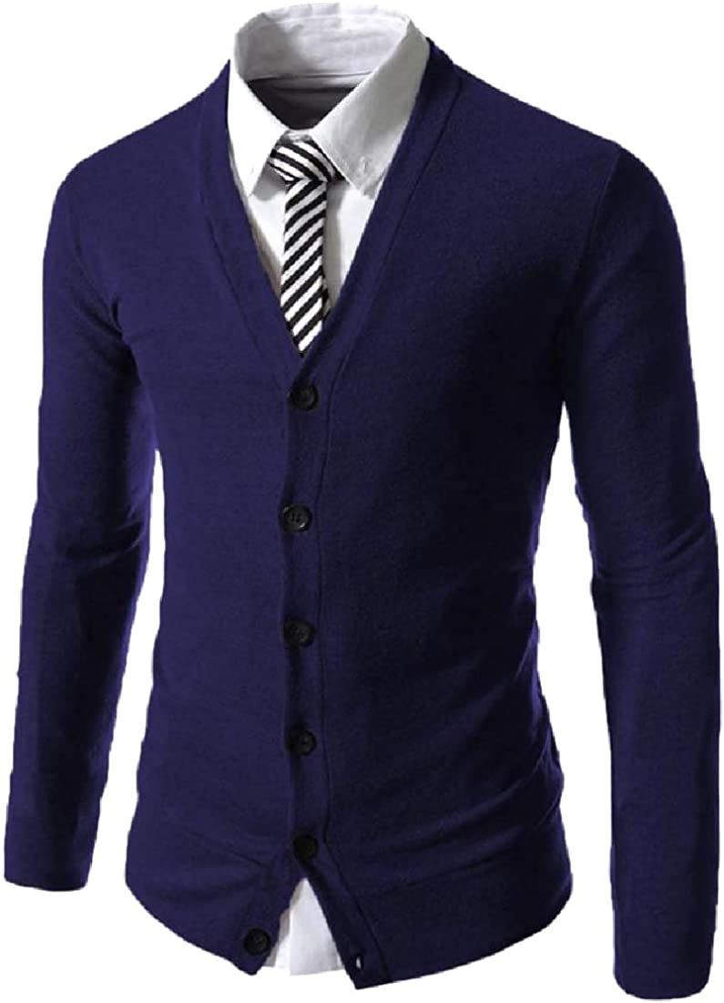 Coolred-Men Wear to Work Relaxed-Fit Button Front Knitting Shirt
