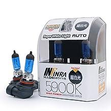 Infinra H10 (9040, 9050, 9055, 9140, 9145) 42W 5900K Super White Xenon Halogen Fog Light Bulbs (Pack of 2)