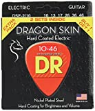 DR Strings DSE-2/10 Dragon Skin Clear Coated Nickel Plated Steel Electric Guitar Strings Value Pack