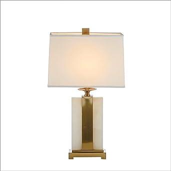 OOFWY E27 Lámpara de mesa Moderno estilo simple para el dormitorio ...