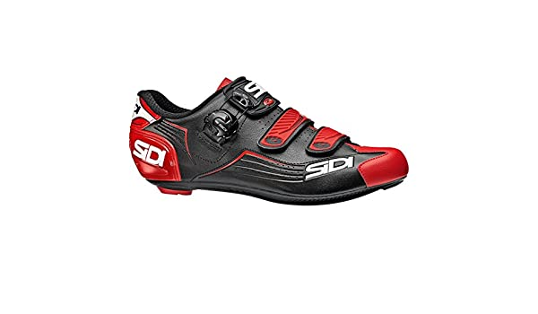 Zapatillas Carretera Sidi Alba Negro-Rojo - Talla: 44: Amazon.es: Deportes y aire libre