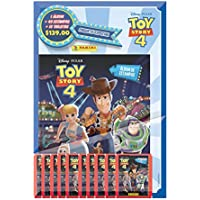 Toy Story 4. Álbum + 40 estampas+10 tarjetas.