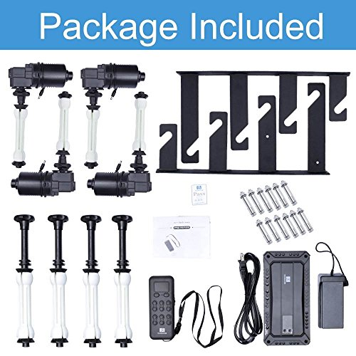 Fotoconic 4 Roller Motorized Electric Wall Ceiling Mount Background Support System with Remote by fotoconic (Image #8)