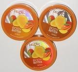 Delon Intense Moisturizing Mango Body Butter 6.9 Oz (3 Pack) Review