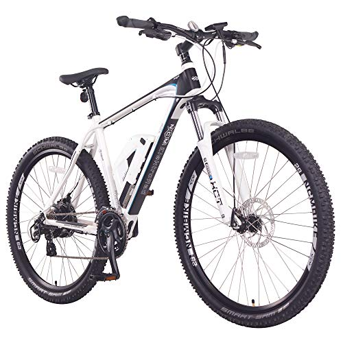 NCM Prague Electric Mountain Bike 468Wh 36V/13AH Matte White 29