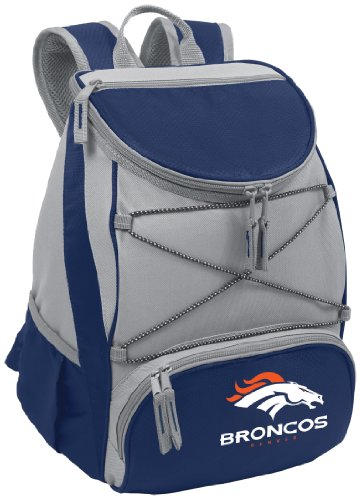 PICNIC TIME NFL Denver Broncos PTX Insulated Backpack Cooler, Navy by PICNIC TIME