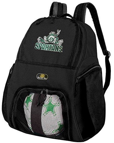 (Broad Bay Michigan State Soccer Backpack or Michigan State Peace Frogs Volleyball)