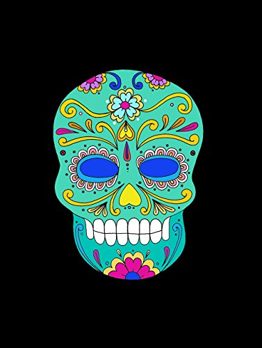 Mexican Skull Decor Sugar Scull decor Day of the Dead POSTER A3 Halloween home wall art print Decor -