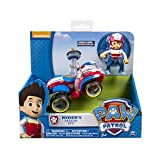 Paw Patrol 20063724-6024006 Ryders Rescue ATV, Vehicle and Figure, Multicolor