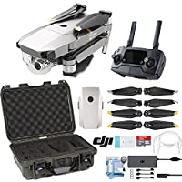 DJI Mavic Pro Platinum Drone with Custom Nanuk Waterproof Hard Case (Graphite)
