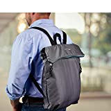 Travel Smart by Conair Fold-up Travel Backpack (Gray)