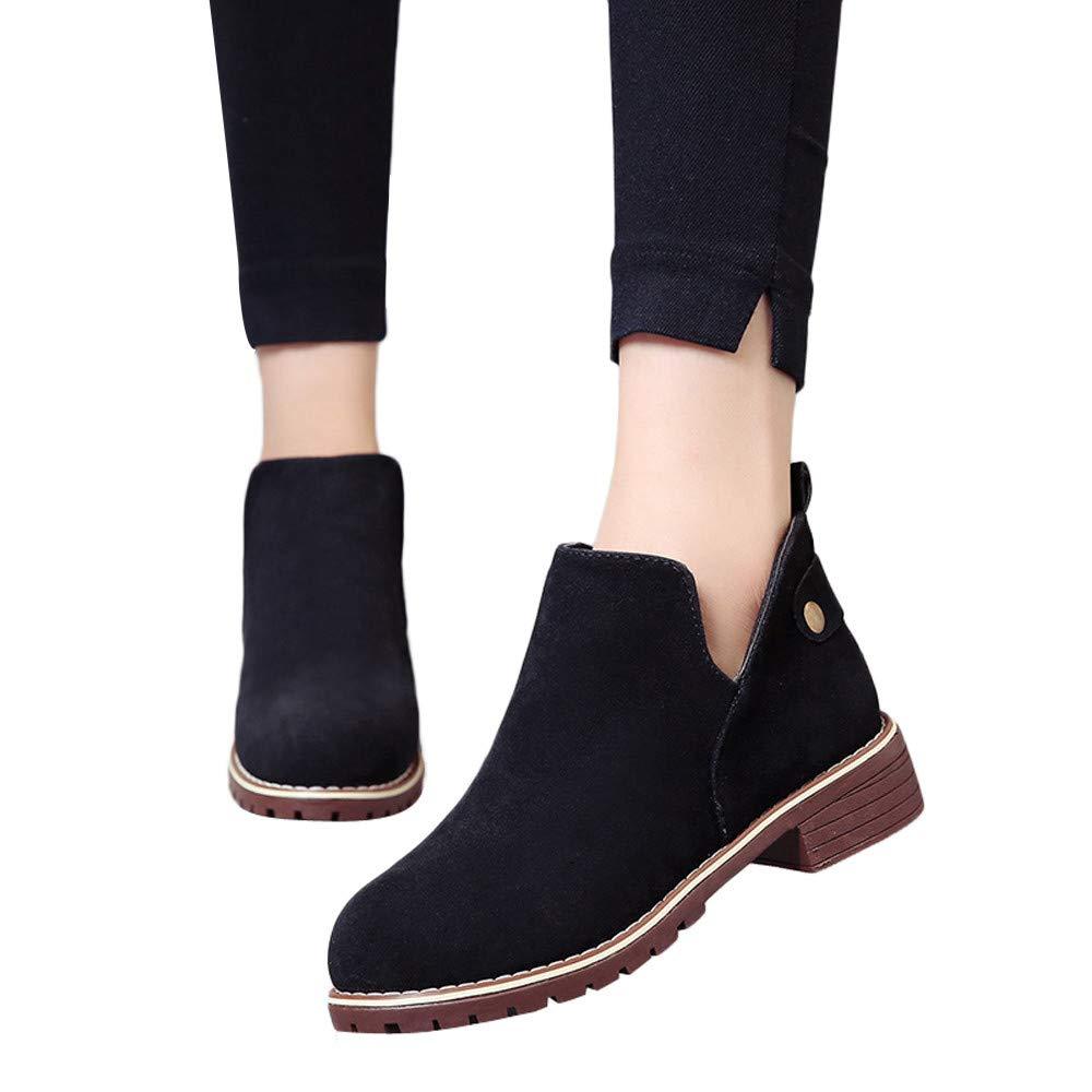 Kinrui Women Shoes DRESS レディース B07J4ZB75S US:7.5|Black -1 Black -1 US:7.5