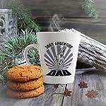 Ceramic Custom Latte Coffee Mug Cup Dad Dogo Argentino Dog Tea Cup 17 Oz Design Only 12