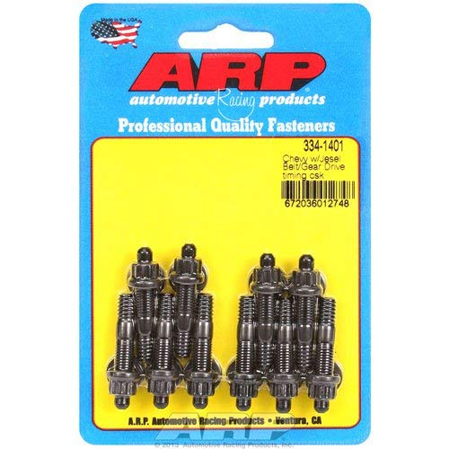 - ARP 334-1401 Timing Cover Stud Kit for Small Block Chevy