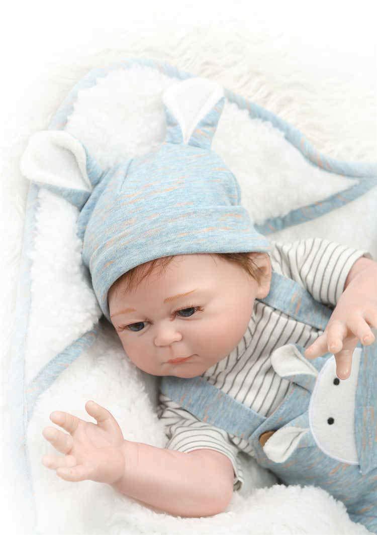 Amazon.com: Aimeedoll 49CM Lifelike Newborn Baby Reborn Doll ...